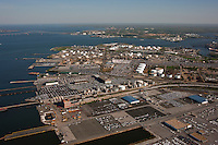 Aerial Photo of Maryland Port Administration Fairfield Terminal at the Port of Baltimore
