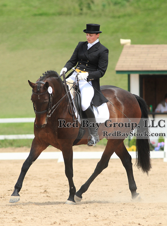Marnie Bowden and Pikelle at the 2010 Equivents Spring Classic in Milton, Ontario.