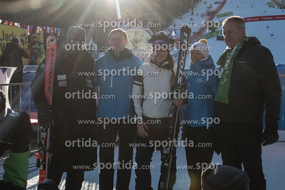 Andrea Massi, Miro Cerar, Tina Maze, during 6th Ladies' Giant slalom at 53rd Golden Fox - Maribor of Audi FIS Ski World Cup 2015/16, on January 7, 2017 in Pohorje, Maribor, Slovenia. Photo by Marko Vanovsek / Sportida