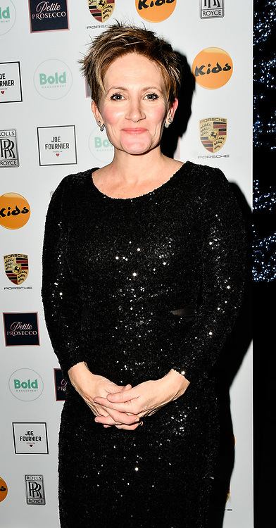 Lucy Speed attends a dinner to raise funds for KIDS, a charity that supports disabled children, young people and their families at Riverbank Park Plaza on 24 November 2018, London, UK.