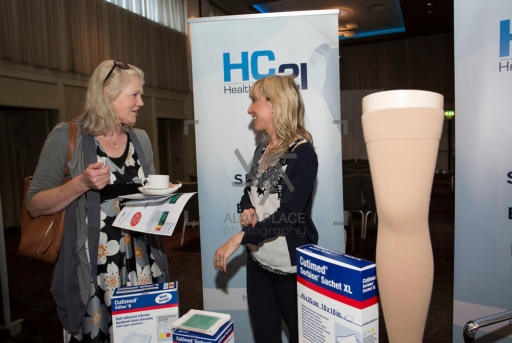 23.05.2018.       <br /> Today, the Institute of Community Health Nursing (ICHN) hosted its&nbsp;2018 community nurse&nbsp;awards in association with&nbsp;Home Instead Senior Care,&nbsp;at its annual nursing conference, in the Strand Hotel Limerick, rewarding public health nurses for their dedication to community care across the country. <br /> <br /> Pictured at the event were, Margaret Hackett and Emer O'Sullivan, Healthcare 21. Picture: Alan Place