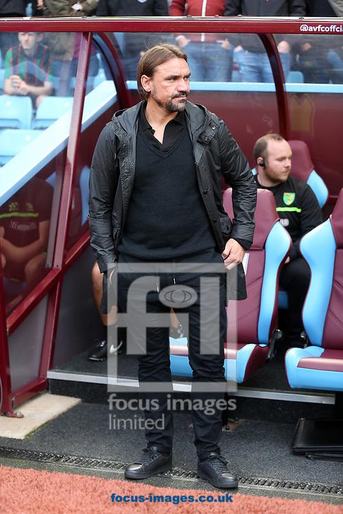 Norwich Head Coach Daniel Farke before the Sky Bet Championship match at Villa Park, Birmingham<br /> Picture by Paul Chesterton/Focus Images Ltd +44 7904 640267<br /> 19/08/2017