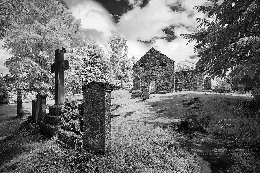 Tombstones, infrared, photography, grave yard,