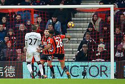 Goal, Christian Kabasele of Watford scores, Bournemouth 0-1 Watford - Mandatory by-line: Jason Brown/JMP - 21/01/2017 - FOOTBALL - Vitality Stadium - Bournemouth, England - Bournemouth v Watford - Premier League