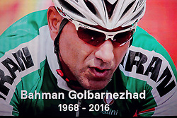 In memoriam of tragedly died Bahman Golbarnezhad of Iran at Closing Ceremony during Day 11 of the Rio 2016 Summer Paralympics Games on September 18, 2016 in Maracanã Stadium, Rio de Janeiro, Brazil. Photo by Vid Ponikvar / Sportida