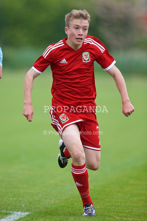 NEWPORT, WALES - Wednesday, May 27, 2015: Regional Development Boys' Jacob Jones during the Welsh Football Trust Cymru Cup 2015 at Dragon Park. (Pic by David Rawcliffe/Propaganda)