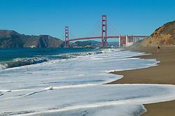 Golden Gate Bridge from Beach