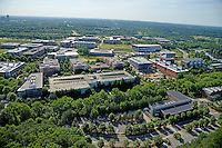 Centennial Campus aerial looking southeast.