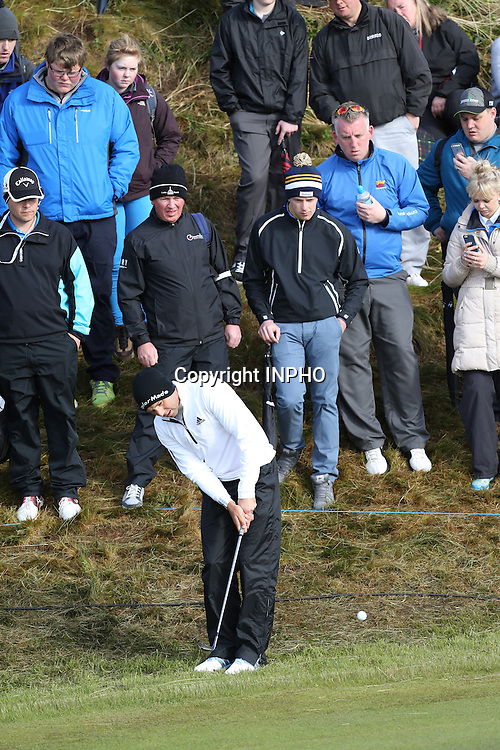2015 Dubai Duty Free Irish Open Day 2, Royal County Down Golf Club, Co. Down 29/5/2015 <br /> Segio Garcia<br /> Mandatory Credit &copy;INPHO/Presseye/Andrew Paton