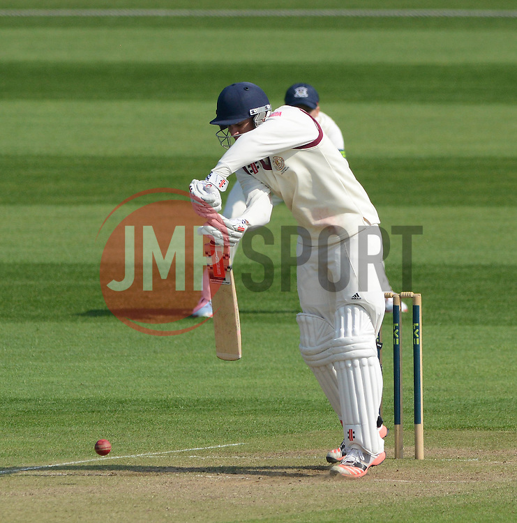 - Photo mandatory by-line: Dougie Allward/JMP - Mobile: 07966 386802 - 09/04/2015 - SPORT - Cricket - Bristol - County Cricket Ground - Gloucestershire County Cricket Club v Cardiff MCCU - Marylebone Cricket Club University Matches