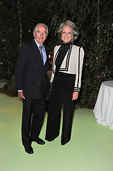 ROBIN & LAVINIA BYERS at a dinner hosted by Cartier in celebration of the Chelsea Flower Show held at Battersea Power Station, 188 Kirtling Street, London SW8 on 23rd May 2011.