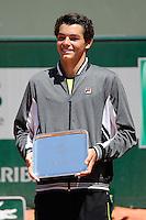 Taylor Harry FRITZ  - 06.06.2015 - Jour 14 - Roland Garros 2015<br />Photo : Nolwenn Le Gouic / Icon Sport