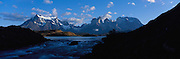 Lake Pehoe, Torres de Paine, Patagonia, Chile, South America<br />