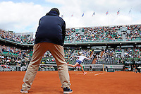 illustration arbitre  - 01.06.2015 - Jour 9 - Roland Garros 2015<br />