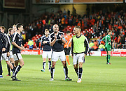 James McPake at the end - Dundee United v Dundee at Tannadice<br /> - Ladbrokes Premiership<br /> <br />  - &copy; David Young - www.davidyoungphoto.co.uk - email: davidyoungphoto@gmail.com