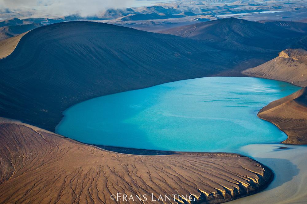 Glacial lake, Landmannalaugar, Iceland