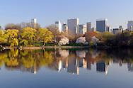 Reflection of Manhattan.