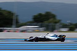 June 23, 2018 - Le Castellet, Var, France - Williams 18 Driver LANCE STROLL (CAN) in action during the Formula one French Grand Prix at the Paul Ricard circuit at Le Castellet - France. (Credit Image: © Pierre Stevenin via ZUMA Wire)