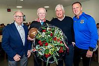 Henk van der Sluis 90 jaar, AZ trainer John van den Brom