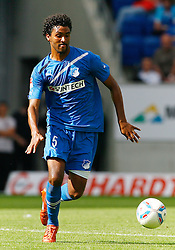 13.08.2011, Wirsol Rhein-Neckar-Arena, Sinsheim, GER, 1.FBL, TSG 1899 Hoffenheim vs BvB Borussia Dortmund, Marvin COMPPER (D), 1899 Hoffenheim am Ball..// during the match from GER, 1.FBL,TSG 1899 Hoffenheim vs BvB Borussia Dortmund on 2011/08/13,  Wirsol Rhein-Neckar-Arena, Sinsheim, Germany..EXPA Pictures © 2011, PhotoCredit: EXPA/ nph/  A.Huber       ****** out of GER / CRO  / BEL ******