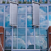 &quot;Reflections Intertwined&quot;<br /> <br /> Reflections, deflectors, glass, bricks and cables all on the front of the science building at Eastern Michigan University!!<br /> <br /> Architecture: Structures and buildings by Rachel Cohen