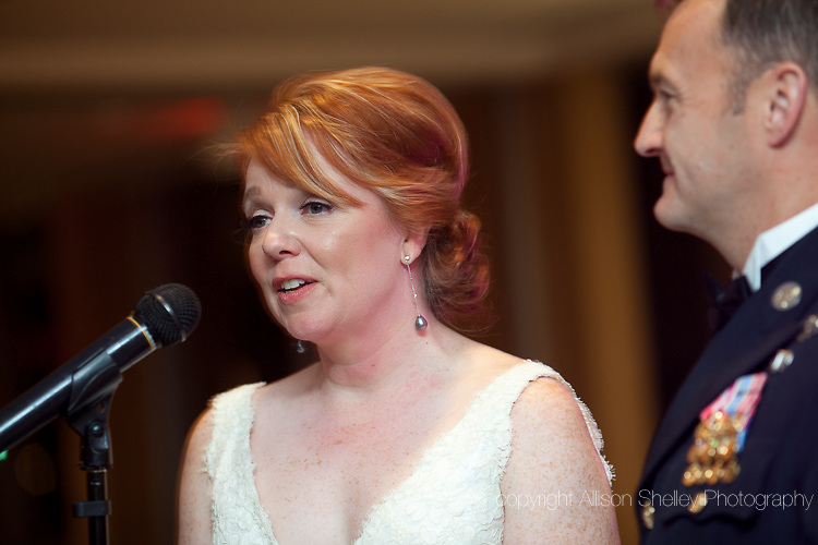wedding of Karen Bambrick and Ron McGraw, Key Bridge Marriott, Arlington, VA, October 7, 2012.