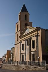 Rionero in Vulture, Basilicata, Italy - The church of SS. Sacrament