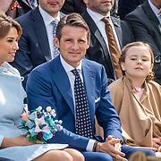 NLD/Tilburg/20170427- Koningsdag 2017, Prinses  Marilène , Prins Maurits, Prinses, Ariane