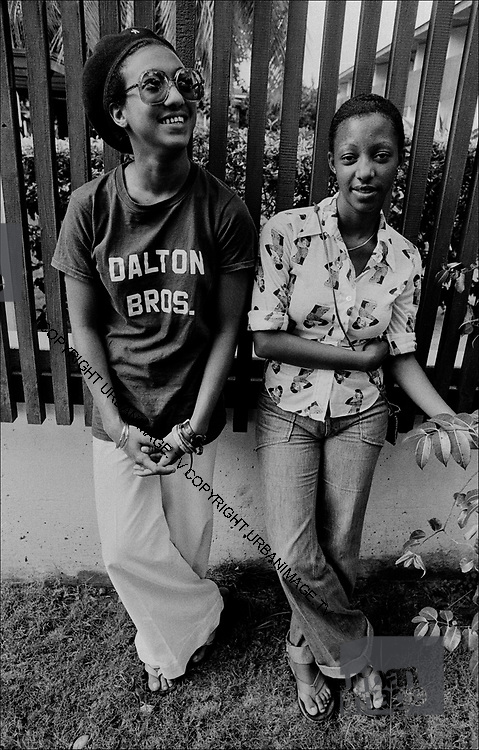Althea and Donna in Kingston 1978