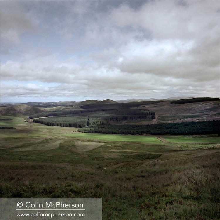 'Site of the Battle of Redeswire, 2013' from 'A Fine Line - Exploring Scotland's Border with England' by Colin McPherson.<br /> <br /> This field was the site of the last battle between the kingdoms of Scotland and England, which took place in 1575AD and resulted in a Scottish victory.<br /> <br /> The project was a one-year exploration of the border between the two historic nations, as seen from the Scottish side of the frontier.<br /> <br /> Colin McPherson is a photographer and visual artist based in north west England. In 2012 he was one of the founding members of Document Scotland, a collective of four Scottish documentary photographers brought together by a common vision to witness and photograph the important and diverse stories within Scotland at one of the most important times in our nation's history.<br /> <br /> 'A Fine Line' will be shown for the first time in public at Impressions Gallery, Bradford, from July 1 until September 27, 2014 to coincide with the Scottish Independence referendum.