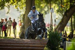 Burton Christopher (AUS) - Dutch Man Retto<br /> Cross country 6 years old horses<br /> Mondial du Lion - Le Lion d'Angers 2014<br /> © Dirk Caremans<br /> 18/10/14