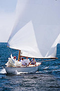 Cherokee, 6 Meter Class, sailing in the Robert H. Tiedemann Classic Yachting Weekend race 1.