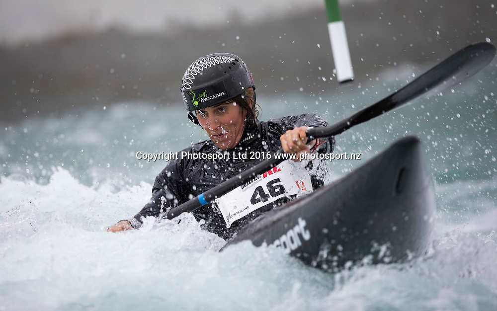New Zealand's Luuka Jones in action, WhitewaterXL, Vector Wero Whitewater Park,  Auckland, New Zealand. Friday 25 November 2016. © Copyright Photo: www.Photosport.nz