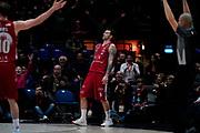 Micov Vladimir Esultanza <br /> A X Armani Exchange Olimpia Milano - Vanoli Cremona <br /> Basket Serie A LBA 2019/2020<br /> Milano 09 February 2020<br /> Foto Mattia Ozbot / Ciamillo-Castoria