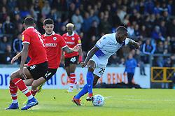 Abu Ogogo of Bristol Rovers gets past Ethan Pinnock of Barnsley- Mandatory by-line: Nizaam Jones/JMP - 04/05/2019 - FOOTBALL - Memorial Stadium - Bristol, England - Bristol Rovers v Barnsley - Sky Bet League One
