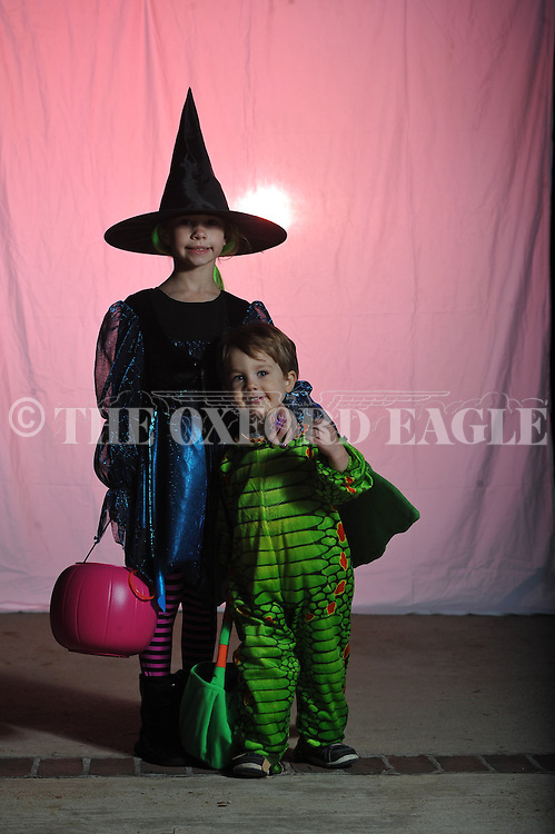 Halloween in Oxford, Miss. on Wednesday, October 31, 2012.