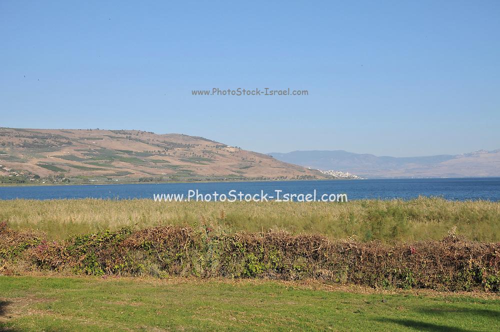 Israel, the Sea of Galilee