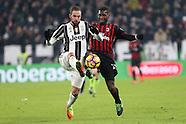 Juventus v AC Milan - Italian Cup Quarter Final