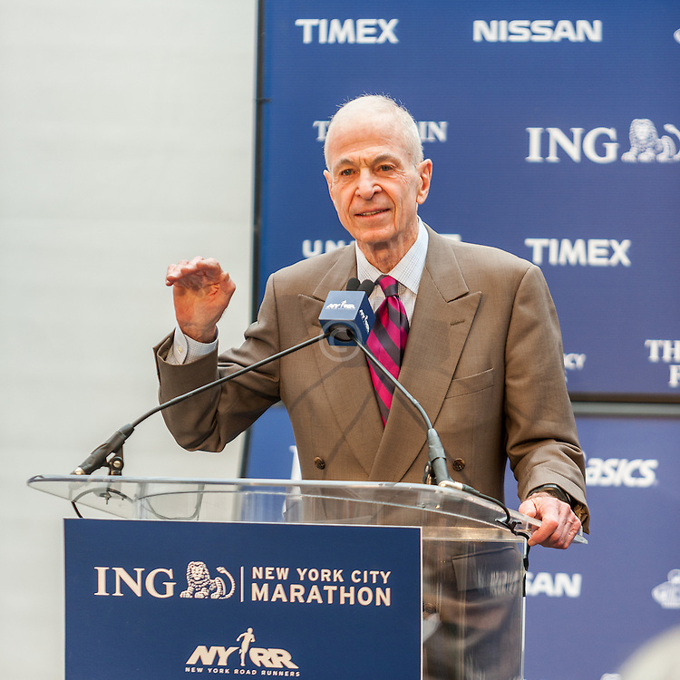 ING New York City Marathon: NYRR Hall of Fame induction, George Hirsch