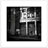 Kent Street, Sydney CBD. From the Ephemeral Sydney street series.<br /> <br /> Instagram: @GirtBySeaMono