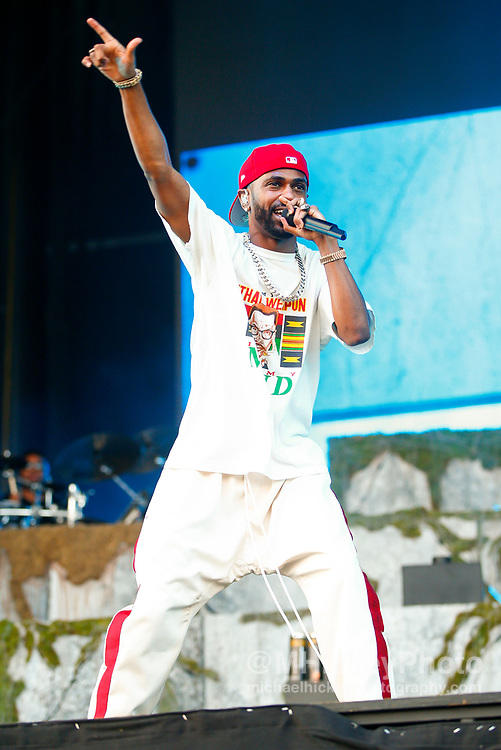 CHICAGO, IL - AUGUST 06: Big Sean performs at Grant Park on August 6, 2017 in Chicago, Illinois. (Photo by Michael Hickey/Getty Images) *** Local Caption *** Big Sean