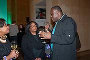 JENNIFER FRANCIS; GODFRIED DONKOR; DIANE ABBOTT, Migrations private view, Tate Britain. London. 30 January 2012.
