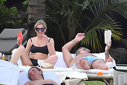 EXCLUSIVE: Newly married couple Lisa Faulkner and John Torode seen enjoying their honeymoon in Mauritius. Actress Lisa Faulkner was seen in a black bikini with new celebrity chef husband. Their honeymoon has been hit by poor weather on the idyllic island where there has been torrential rain cause by a cyclone. 23 Jan 2020 Pictured: Lisa Faulkner; John Torode. Photo credit: MEGA TheMegaAgency.com +1 888 505 6342