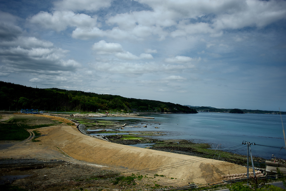 May 28, 2013 - Togura, Japan: General view of Togura bay , a small fishing village badly affected by the 2011 tsunami in eastern Japan. (Paulo Nunes dos Santos)