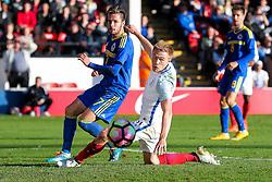 Duncan Watmore of England U21 in action - Rogan Thomson/JMP - 11/10/2016 - FOOTBALL - Bescot Stadium - Walsall, England - England U21 v Bosnia and Herzegovina - UEFA European Under 21 Championship Qualifying.