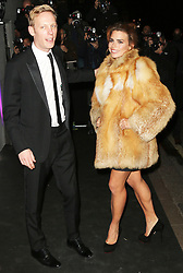 © Licensed to London News Pictures. Laurence Fox and Billie Piper attending the London Evening Standard Theatre Awards at the The Savoy Hotel in London, UK on 17 November 2013. Photo credit: Richard Goldschmidt/PiQtured/LNP