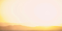 Uber simple desert landscape of light and shadow.