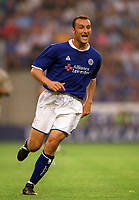 Ricardo Scimeca (Leicester City) Leicester City v Barcelona, Pre-Season Friendly, 8/08/2003. Credit: Colorsport / Matthew Impey