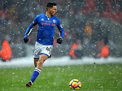 Ian Henderson of Rochdale - Mandatory by-line: Robbie Stephenson/JMP - 28/02/2018 - FOOTBALL - Wembley Stadium - London, England - Tottenham Hotspur v Rochdale - Emirates FA Cup fifth round proper