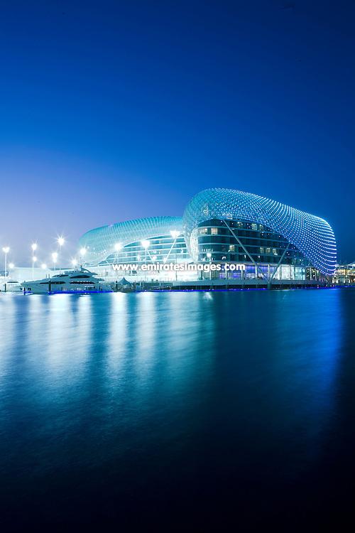The Yas Hotel in Abu Dhabi